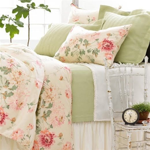 Best Pretty Green Pink Floral Bedroom These Were My Bedroom With Pictures