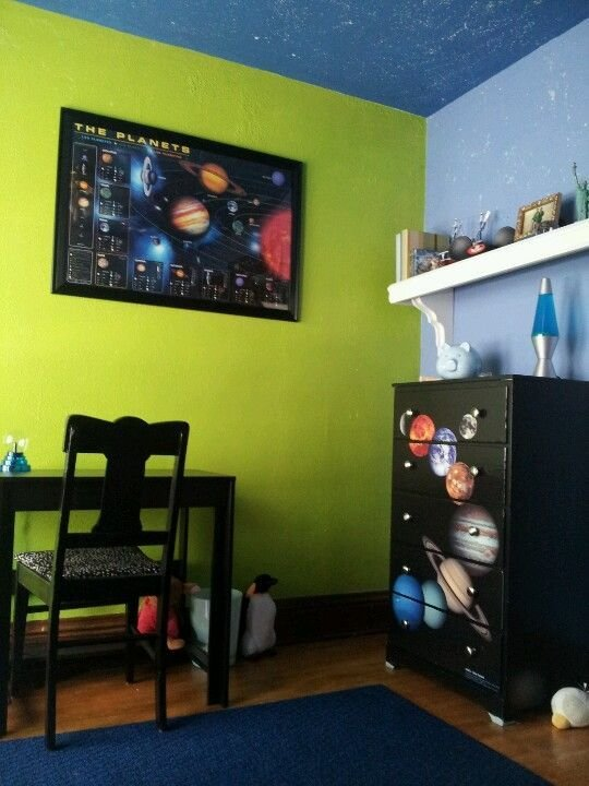 Best Solar System Bedroom Decor For Jordan My Little With Pictures