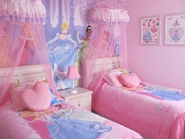 Best Disney Princess Bedroom 2 Kids Bedrooms And Playroom With Pictures