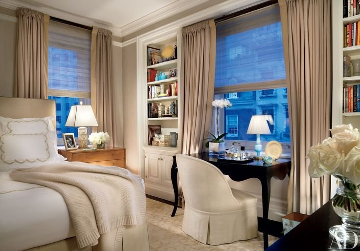 Best Bedrooms With Home Offices That Make Work Fun Manhattan With Pictures