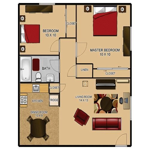 Best 500 Sq Ft House Plans Heritage Park Alta Loma 9601 With Pictures