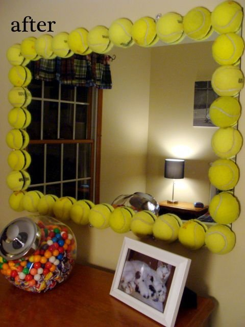Best Ok This Tennis Ball Mirror Is Awesome So Cute Wish I With Pictures