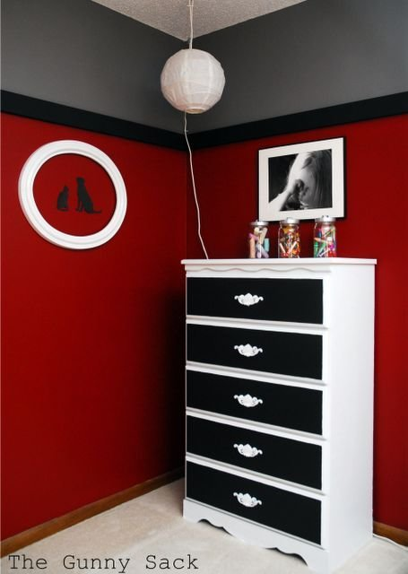 Best Bedroom Makeover Reveal Red Bedrooms Boys And Sons With Pictures