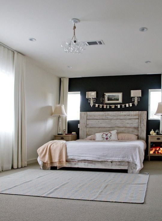 Best 25 Best Ideas About Painted Wood Headboard On Pinterest Beach Style Headboards Beach Style With Pictures