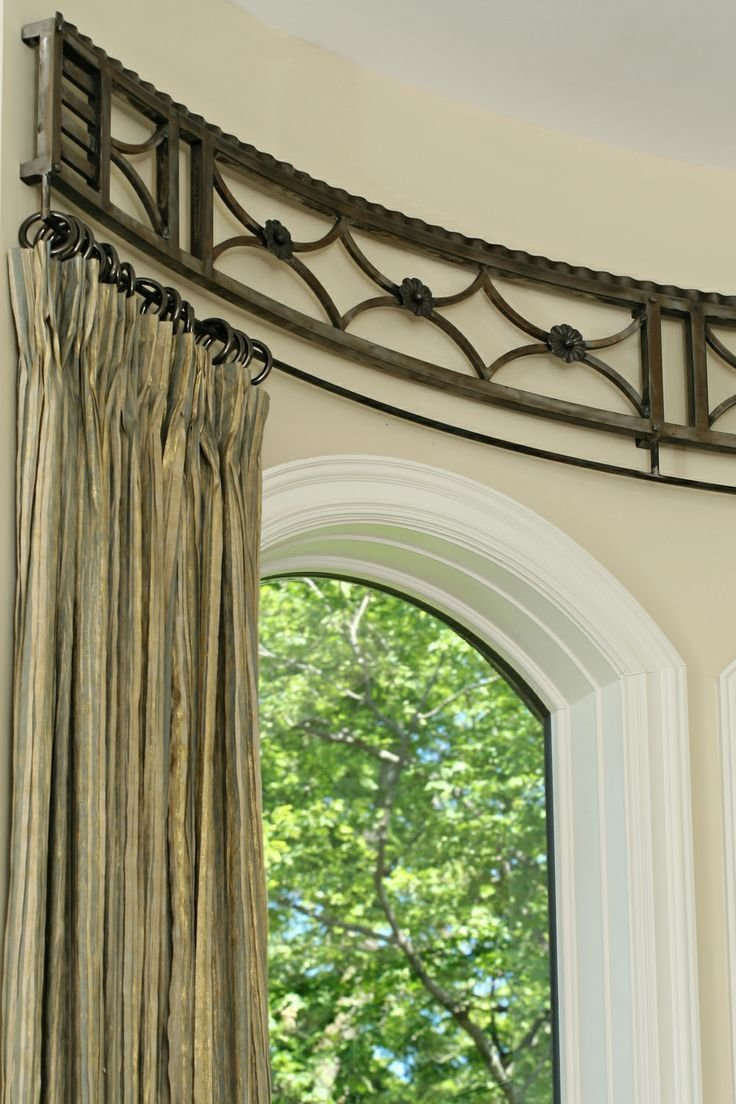 Best 17 Best Ideas About Curved Curtain Rod On Pinterest Vanity Bench Pink Master Bedroom And With Pictures