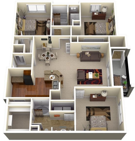 Best My New Home S 3D Floor Plan With Pictures