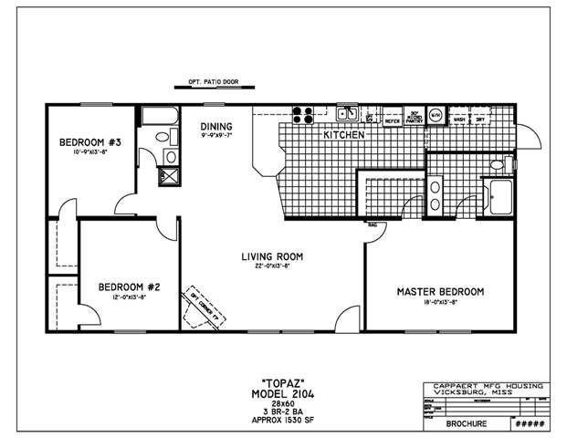 Best Double Wide Mobile Home Floor Plans Bedroom Mobile Home With Pictures