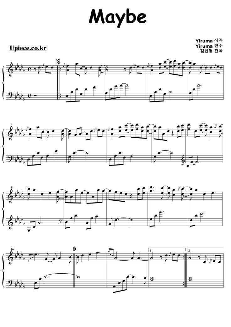 Best 99 Best Images About Yiruma On Pinterest Sheet Music With Pictures