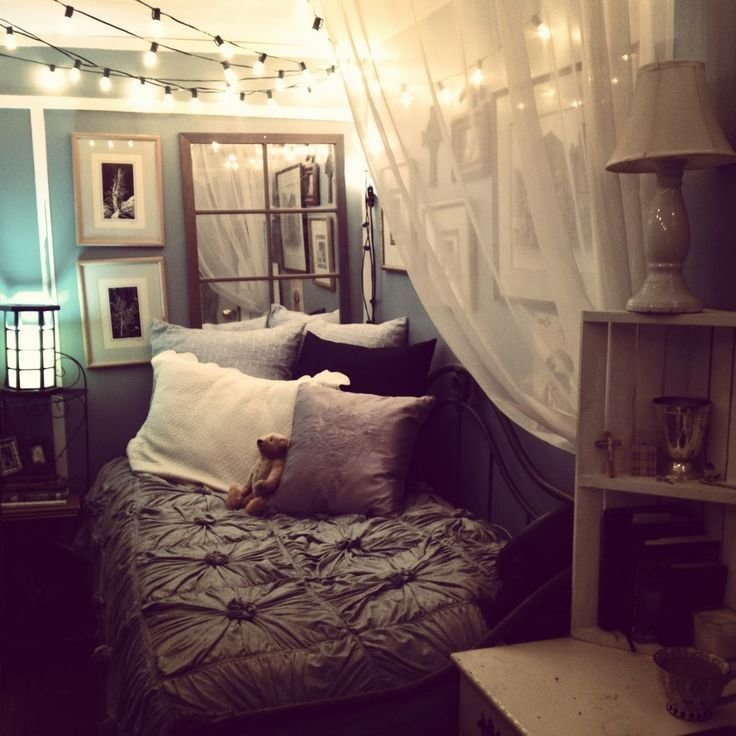 Best Cozying Up A Small Bedroom Via Tumblr Cute Ideas With Pictures