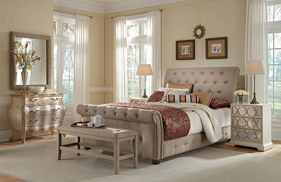 Best Maison Sand Bedroom Collection Value City Furniture With Pictures