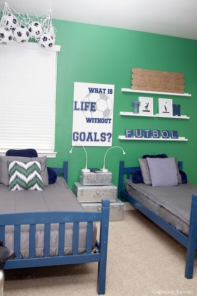 Best 1000 Ideas About Soccer Bedroom On Pinterest Boys With Pictures