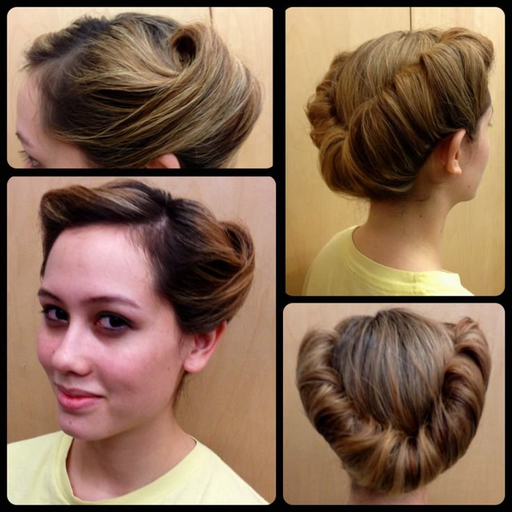 Free 17 Best Ideas About 1950S Updo On Pinterest 1950S Hair Wallpaper
