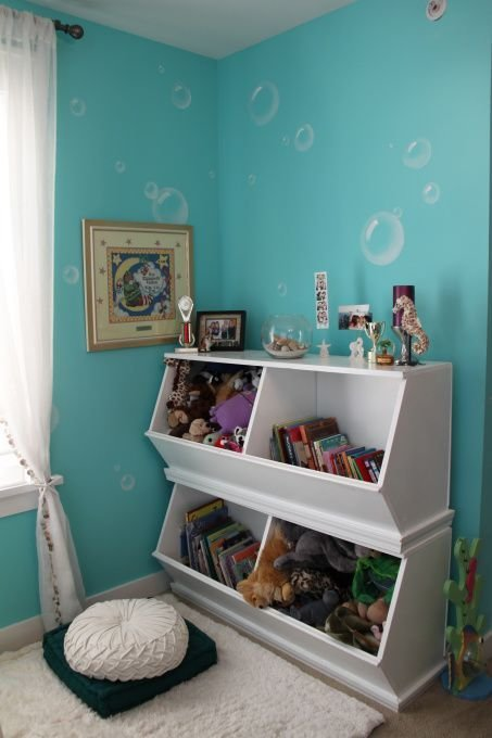Best Mias Under The Sea Bedroom This Is My Older Daughters With Pictures