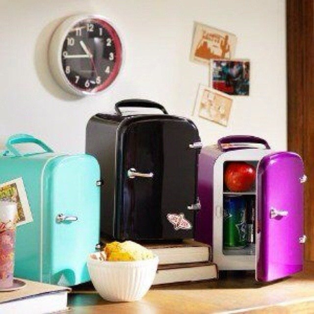 Best Pottery Barn Adorable Mini Fridge For Night Stand Or Desk With Pictures