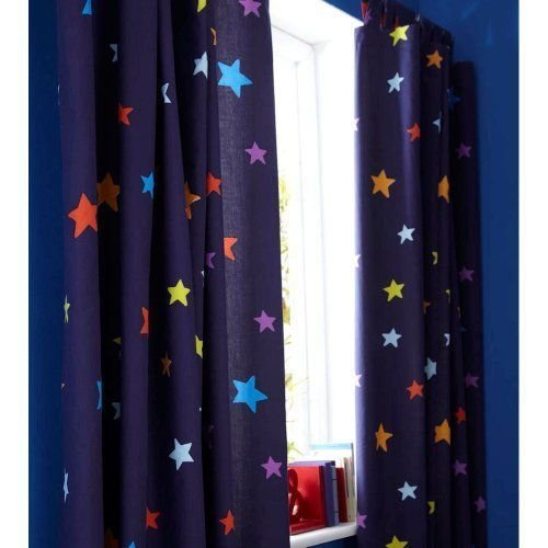 Best Boys Blue Outer Space Rocket Star Curtains Nursery Children S Bedroom Http Www Amazon Co With Pictures