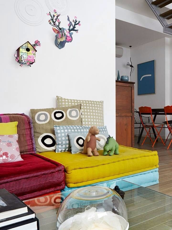 Best 1000 Ideas About Floor Cushions On Pinterest French Mattress Cushion Diy Playroom Seating With Pictures