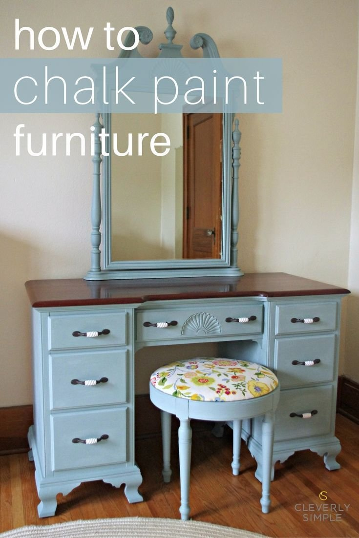 Best How To Chalk Paint Furniture Chalk Paint Tutorial And With Pictures