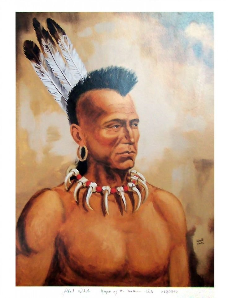 Free Mohawk Indian Keeper Of The Eastern Door 783X1024 Jpg Wallpaper