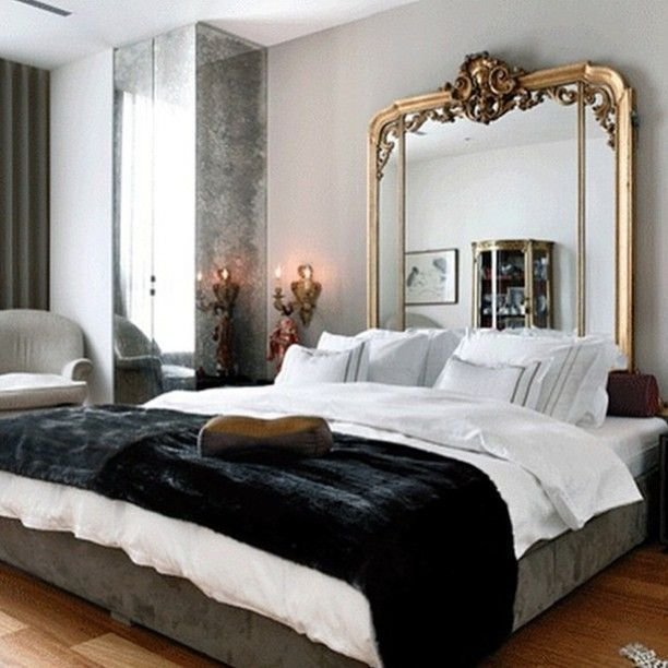 Best 25 Mirror Headboard Ideas Only On Pinterest Mirror Furniture Grey Bedrooms And Grey With Pictures