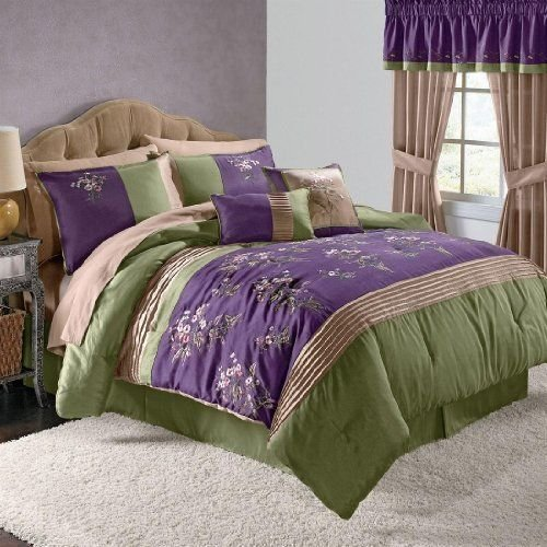 Best Brylanehome Arles 6 Pc Embroidered Comforter Set By With Pictures
