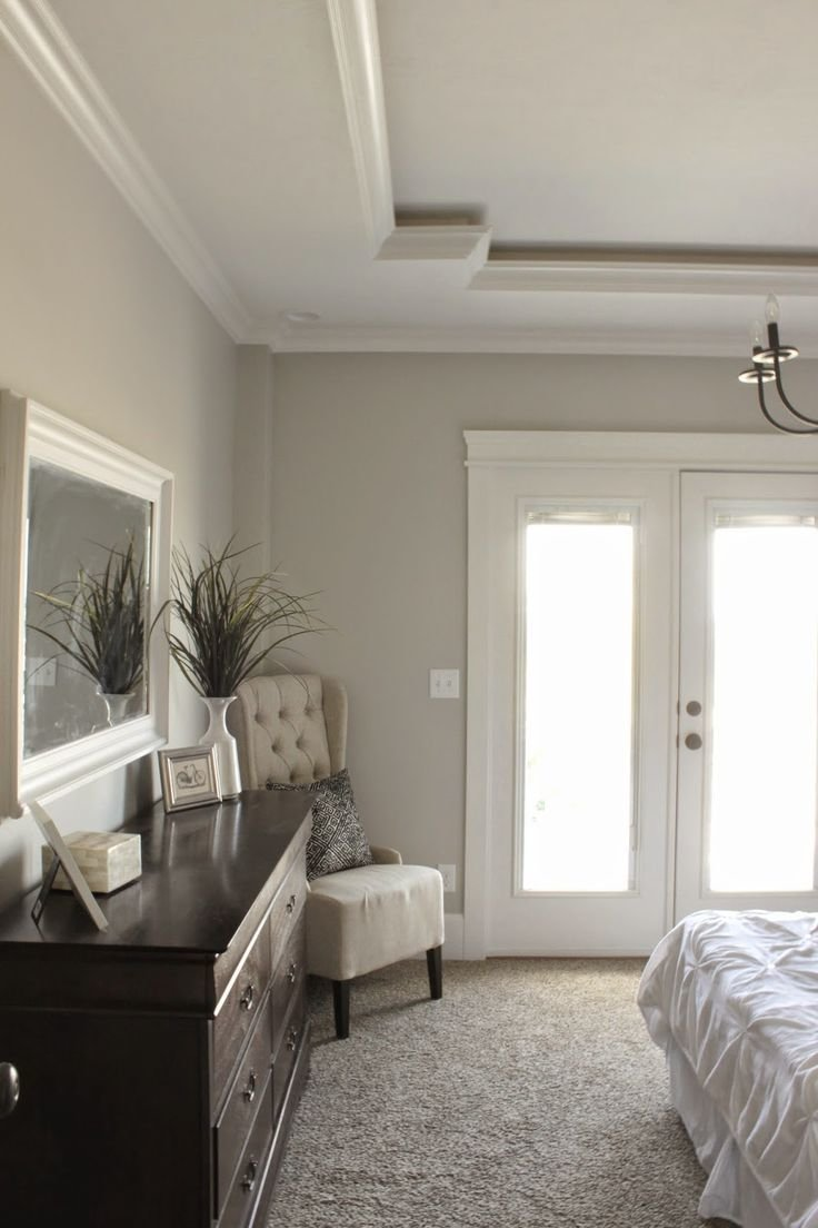 Best Bedroom Unique Tray Ceiling Sherwin Williams Repose Gray With Pictures