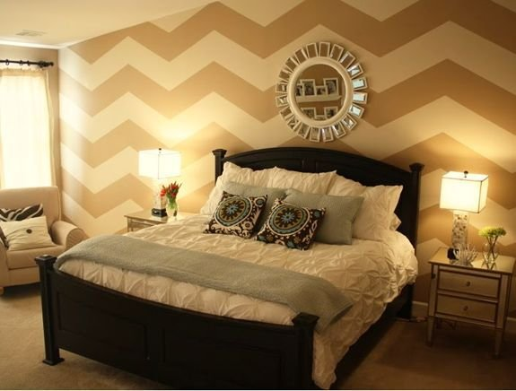 Best Chevron Accent Wall This Is A Fabulous Way To Accent One With Pictures