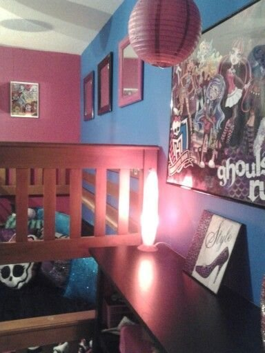 Best 17 Best Images About My Monster High Themed Bedroom On With Pictures