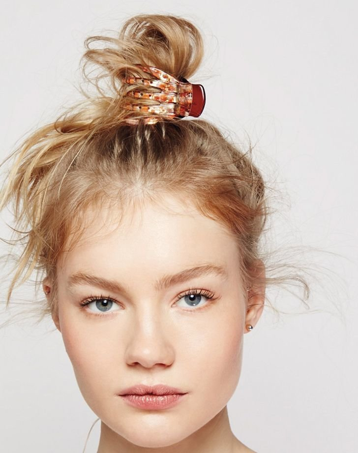 Free 17 Best Ideas About Banana Clip Hairstyles On Pinterest Wallpaper