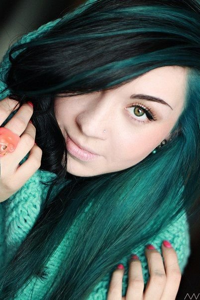 Free 1000 Ideas About Teal Hair Highlights On Pinterest Teal Wallpaper