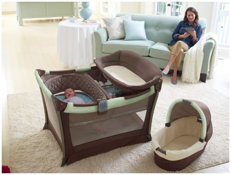 Best Graco Day2Night Sleep System Bedroom Bassinet Pack N Play Playard Ardmore Home Sweet With Pictures