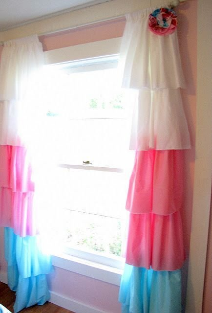 Best Diy Curtains Cute For A Little Girl S Room Matches With Pictures