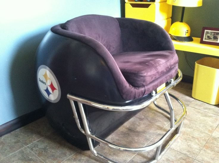 Best Pittsburgh Steelers Helmet Chair Vintage Pittsburgh With Pictures