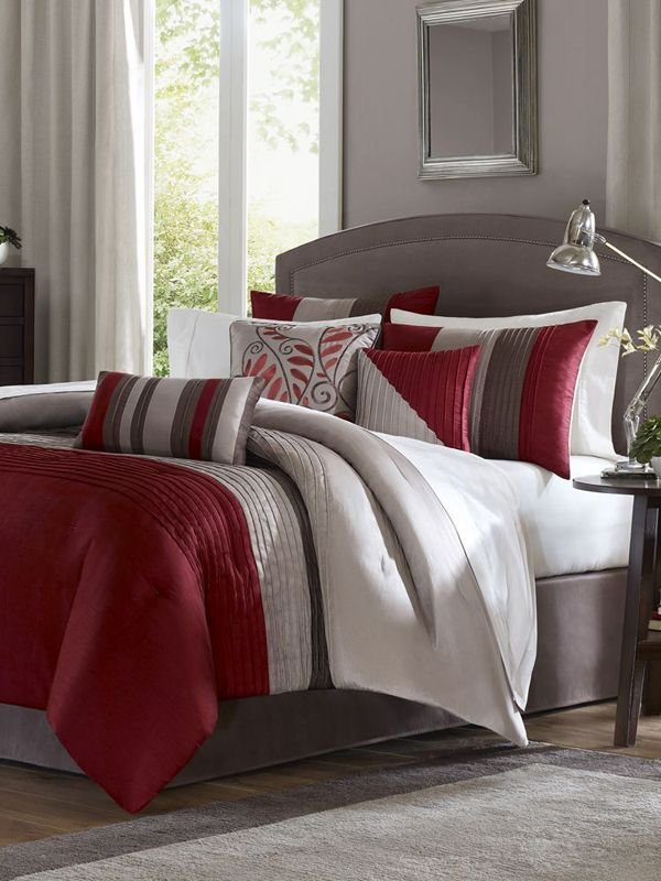 Best 25 Best Grey Red Bedrooms Ideas On Pinterest With Pictures