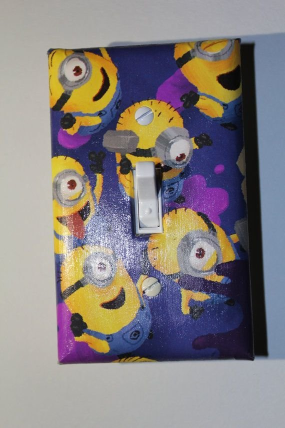 Best Despicable Me Minion Light Switch Plate Cover Room Decor With Pictures