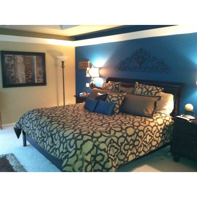 Best Teal Accent Wall In The Bedroom Bedroom Ideas With Pictures