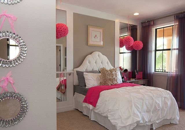 Best Girly Pink Room Girly Room Pink Home Bed Elegant Design With Pictures