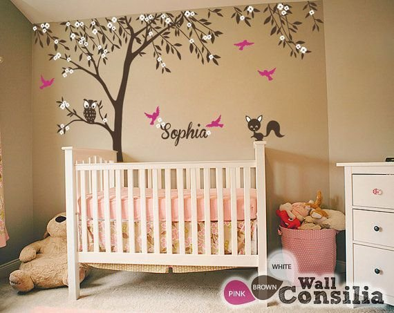 Best Baby Nursery Wall Decals Tree Wall Decal Tree Decal With Pictures