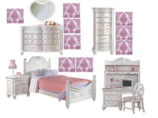 Best Disney Princess Bedroom Set From Rooms To Go Kids With Pictures