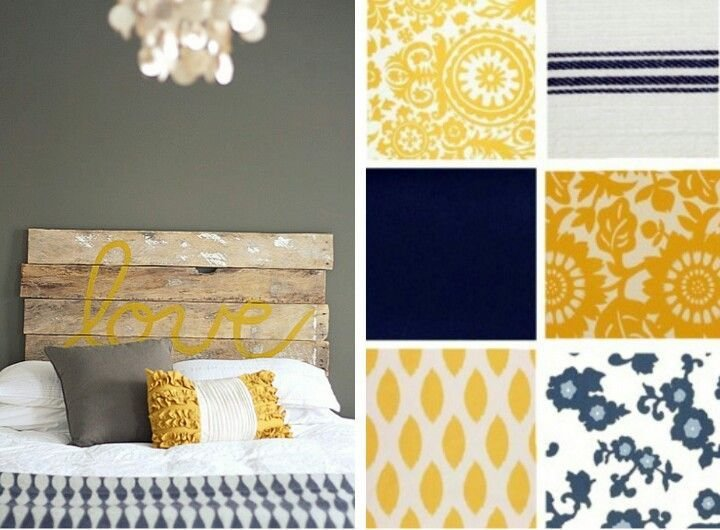Best Yellow Grey Navy Blue Color Palette New Apartment With Pictures