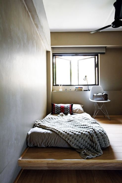 Best Dwell Interior Design Home Decor Singapore Raised Platform For Bed And Reading Chair At With Pictures