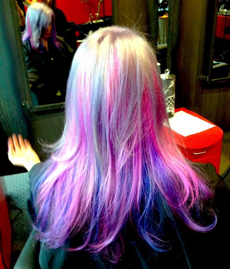 Free Check Out This Awesome My Little Pony Inspired Hair Color Done By Katie Check Out Her Gallery Wallpaper