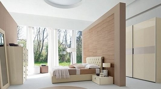 Best Bedroom Partition Ideas Contemporary Master Bedroom Decorating With Luxurious Leather Bed And With Pictures