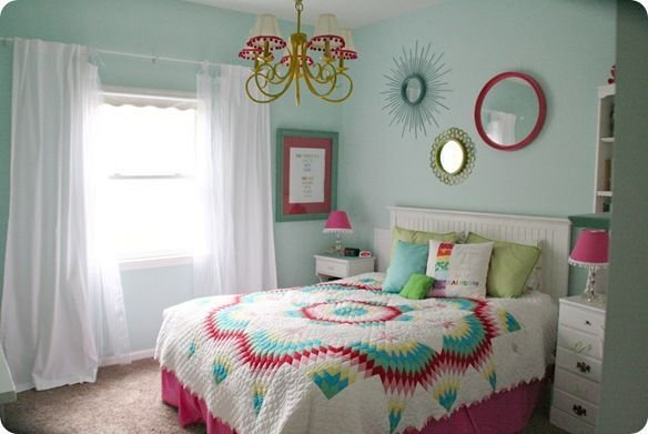 Best Colorful T**N Girls Bedroom Paint Colors Girls And Sea Turtles With Pictures