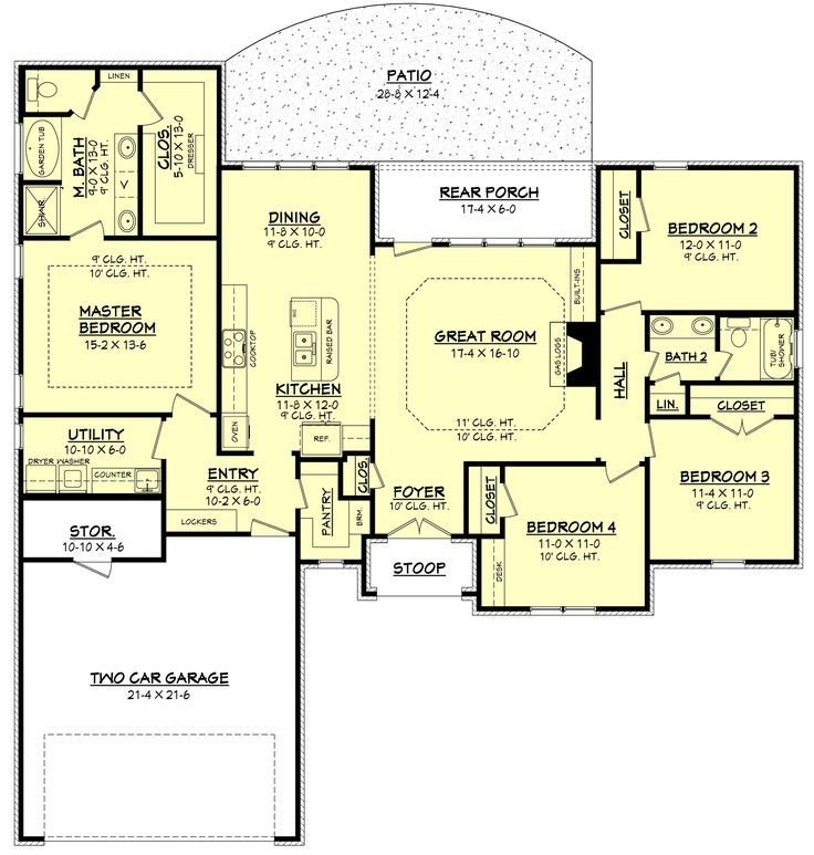 Best 1000 Ideas About Ranch Floor Plans On Pinterest House With Pictures