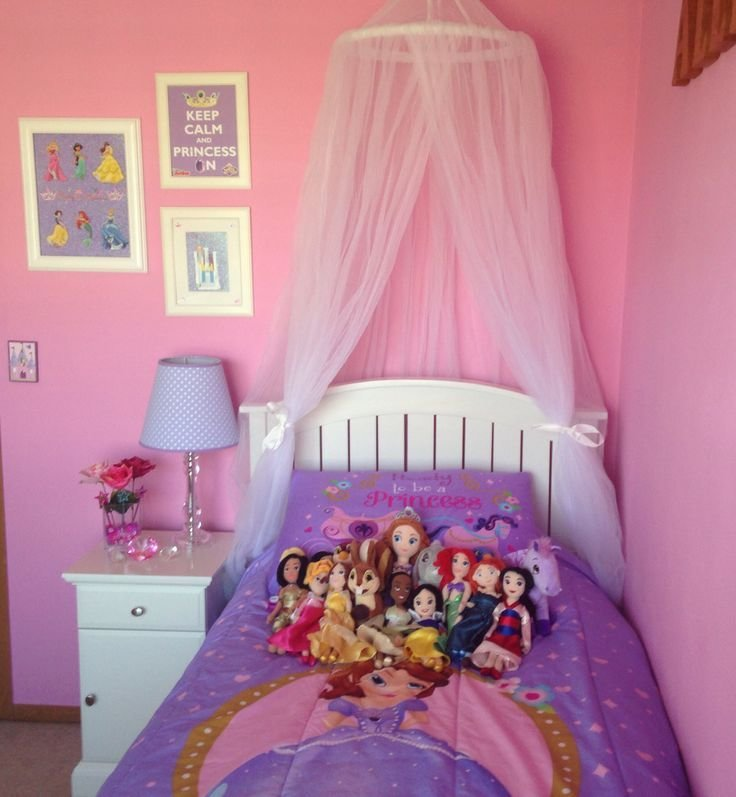 Best Sofia The First And Disney Princess Girl Bedroom Ideas With Pictures