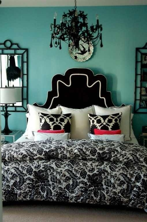 Best Teal Black White Room Cute Home Ideas For Me With Pictures