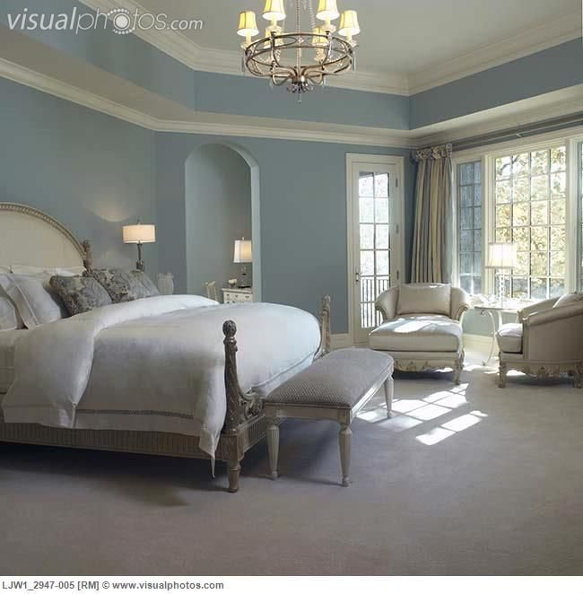 Best French Country Blue Paint Colors Master Bedroom Soft With Pictures