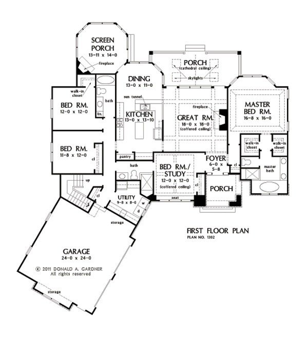 Best One Story House Plans With Split Master And Open Concept With Pictures