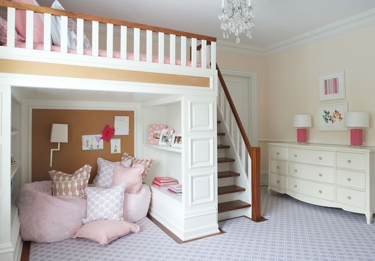 Best 25 Girl Loft Beds Ideas Only On Pinterest With Pictures