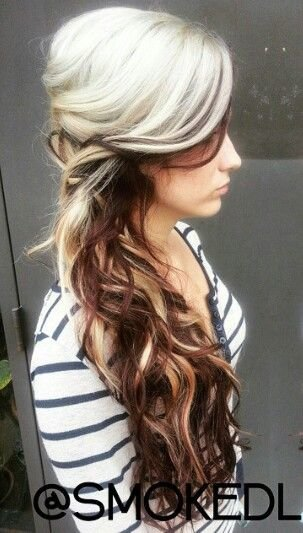 Free 25 Best Ideas About Two Toned Hair On Pinterest Plaits Wallpaper